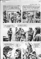GIOLITTI, ALBERTO - Beneath Planet of the Apes GK pg 15, 1970 Comic Art