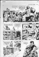 GIOLITTI, ALBERTO - Beneath Planet of the Apes GK pg 16, 1970 Comic Art