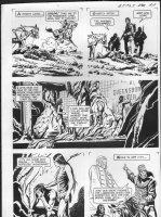 GIOLITTI, ALBERTO - Beneath Planet of the Apes GK pg 17, 1970 Comic Art