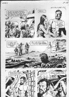 GIOLITTI, ALBERTO - Beneath Planet of the Apes GK pg 18, 1970 Comic Art