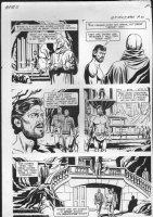 GIOLITTI, ALBERTO - Beneath Planet of the Apes GK pg 21, 1970 Comic Art