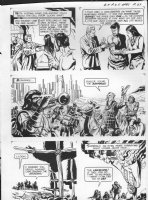 GIOLITTI, ALBERTO - Beneath Planet of the Apes GK pg 27, 1970 Comic Art