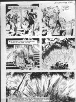 GIOLITTI, ALBERTO - Beneath Planet of the Apes GK pg 32, 1970 Comic Art