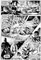 BRUNNER, FRANK - Howard The Duck #1 pg 7, Steve Gerber - Howard Barbarian, image used in poster Comic Art