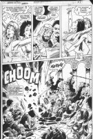 MAYERICK, VAL co-creator - Howard the Duck Annual #1 pg 38, Middle-Eastern satire by Steve Gerber Comic Art