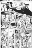 MAYERICK, VAL co-creator - Howard the Duck Annual #1 pg 10, Middle-Eastern satire by Steve Gerber Comic Art