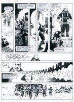 RANSON, ARTHUR - 2000 AD #644 pg, Dredd Triad story Comic Art