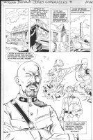 PURCELL, GORDAN / Dan Barry story - Indiana Jones (Dark Horse) #8 pg 23, German East Africa Comic Art