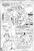 PURCELL, GORDAN / Dan Barry story - Indiana Jones (Dark Horse) #8 pg 24, German East Africa Comic Art