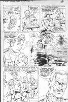 PURCELL, GORDAN / Dan Barry story - Indiana Jones (Dark Horse) #7 pg 20, German East Africa Comic Art