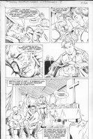 PURCELL, GORDAN / Dan Barry story - Indiana Jones (Dark Horse) #7 pg 22, German East Africa Comic Art