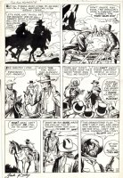 KIRBY, JACK - Two Gun Kid #59 large pg 12, last Golden-age Two Gun Kid, signed Comic Art