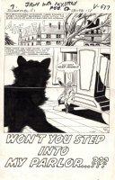 KIRBY, JACK - Journey Into Mystery #80 pg 1 large splash, Sci Fi monster horror Comic Art