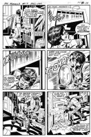 KIRBY, JACK / MIKE ROYER - Mr Miracle #17 pg 8, Shilo Norman as Mr Miracle  Comic Art