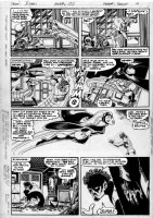BYRNE, JOHN / AUSTIN - Uncanny X-Men #132 pg 12, X-Men vs Hell Fire Club, lettering never were added, now on overlay Comic Art