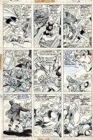 BROWN BOB - Avengers #117 pg 15, Avengers vs Defenders War chap 7- Swordsman VS Valkyrie Comic Art