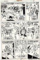 BUSCEMA, SAL / JOE STATON - Avengers #127 pg, wedding cross-over - Avengers / Fantastic Four / Inhumans Comic Art