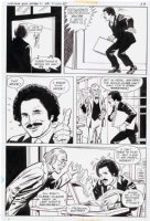 OKSNER, BOB / JACK SPARLING layouts - Welcome Back Kotter DC TV Comics #1 pg 11 - Gabe Kaplin & old teacher Comic Art