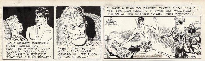 LUBBERS, BOB - Tarzan daily #4095, Tarzan and the Inheritance Comic Art