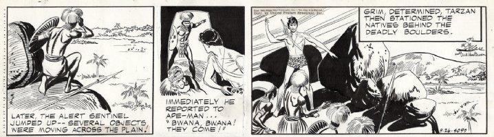 LUBBERS, BOB - Tarzan daily #4097, Tarzan and the Inheritance Comic Art