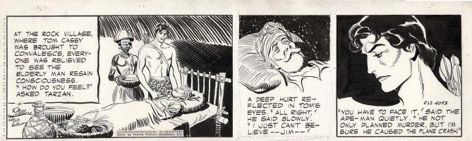 LUBBERS, BOB - Tarzan daily #4093, Tarzan and the Inheritance Comic Art