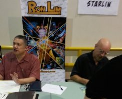 COOLLINESART touches base at Sacramento Comic-Con 2015 with STARLIN & RON LIM Comic Art