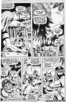 EVERETT, BILL - Submariner #52 pg 11, Sunfire sees & learns of Subby Comic Art