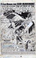EVERETT, BILL - Submariner #52 pg 1 Splash, Subby & Nita Comic Art