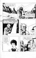 CRAWFORD, MEL - Doctor Solar #5 GK 2-up pg 18, Prof Harbinger - Teleportation Comic Art