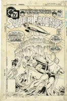 FRADON, RAMONA - Superfriends #27 DC TV cover, Superman, Womder Woman, Aquaman Batman Comic Art