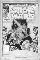 FRENZ, RON - Star Wars #71 cover, Luke & Lando search for Han Solo, rare cover Comic Art