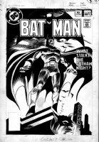 COLAN, GENE - Batman #351 cover, wow! Batman becomes a vampire Batman! First Gene Colan version! Comic Art