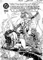 GARCIA LOPEZ, JOSE LUIS - Wonder Woman #124 cover, WW defeated by Artimis- the New Wonder Woman  Comic Art
