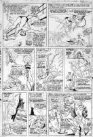 ANDRU, ROSS & BILL EVERETT - Not Brand Ecch #1 2up pg 2, GA Human Torch vs Subby, Betty Comic Art