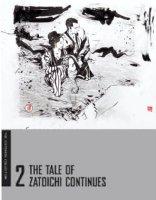 POPE, PAUL - Zatoichi: Blind Swordsman, Tale of Zatoichi Continues DVD Cover art (Criterion, 2013) Comic Art