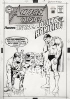 ADAMS, NEAL - Action #358 cover, second ever Superman cover by Neal - Superman kills! Comic Art