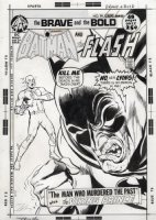 ADAMS, NEAL - Brave & Bold #99 cover, Two-Face style Batman & Flash 1972 Comic Art