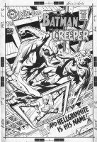 ADAMS, NEAL - Brave & Bold #80 cover; Adams 1st Batman series & early Creeper Comic Art