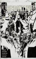 BERMEJO, LEE - Resident Evil: Fire & Ice #4 DC cover 2001  Comic Art