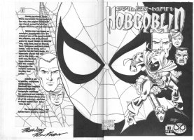 PEREZ, GEORGE & RON FRENZ - Hobgoblin Lives #2 double cover, Spider-Man Comic Art