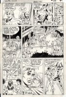PATTON, CHUCK - Justice League Annual #2 pg, Vixen joins, 1st Vibe & Steel + Dale Gunn app 1983 Comic Art