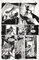 BALENT, JIM - Catwoman #51 pg 18, Catwoman & Huntress teamup 1997 Comic Art