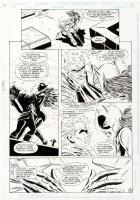 BALENT, JIM & JIM APARO - Green Arrow #86 pg 14, Green Arrow vs Catwoman cross-over 1994 Comic Art