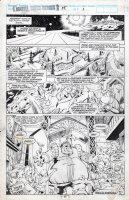 BARNEY, JOE - Marvel Superheroes #15 pg 27, page one of Walt Simonson's Volstagg story! Comic Art