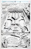 BARNEY, JOE - Marvel Superheroes #15 pg 33, The Enchantress and Volstagg splash! Walt Simonson's Volstagg story! Comic Art