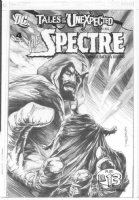 WRIGHTSON, BERNI - Tales Of The Unexpected #4 finished cover, Spectre & Batman - logo on overlay Comic Art