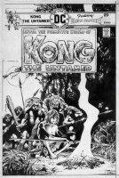 WRIGHTSON, BERNI - Kong the Untamed #2 cover, Blood Brother - DCs caveman Conan Comic Art