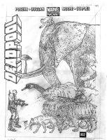 DARROW, GEOF - Deadpool #2 large cover - writer Brian Posehn' Deadpool vs Zoo Animals - DEADPOOL in 2016 film Comic Art