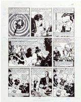 MORROW, GRAY - DC Big Book of Scandal pg 1, Robert Vesco (financial fraud & Nixon donor) 1997 Comic Art