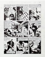 MORROW, GRAY - DC Big Book of Scandal pg 2, Robert Vesco (financial fraud & Nixon donor) 1997 Comic Art